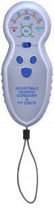 EAR Inc Adjustable Hearing Screener & Fit Check