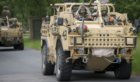 LIGHT DRAGOONS DEPLOY TO BOSNIA AHEAD OF AUTUMN ELECTIONS