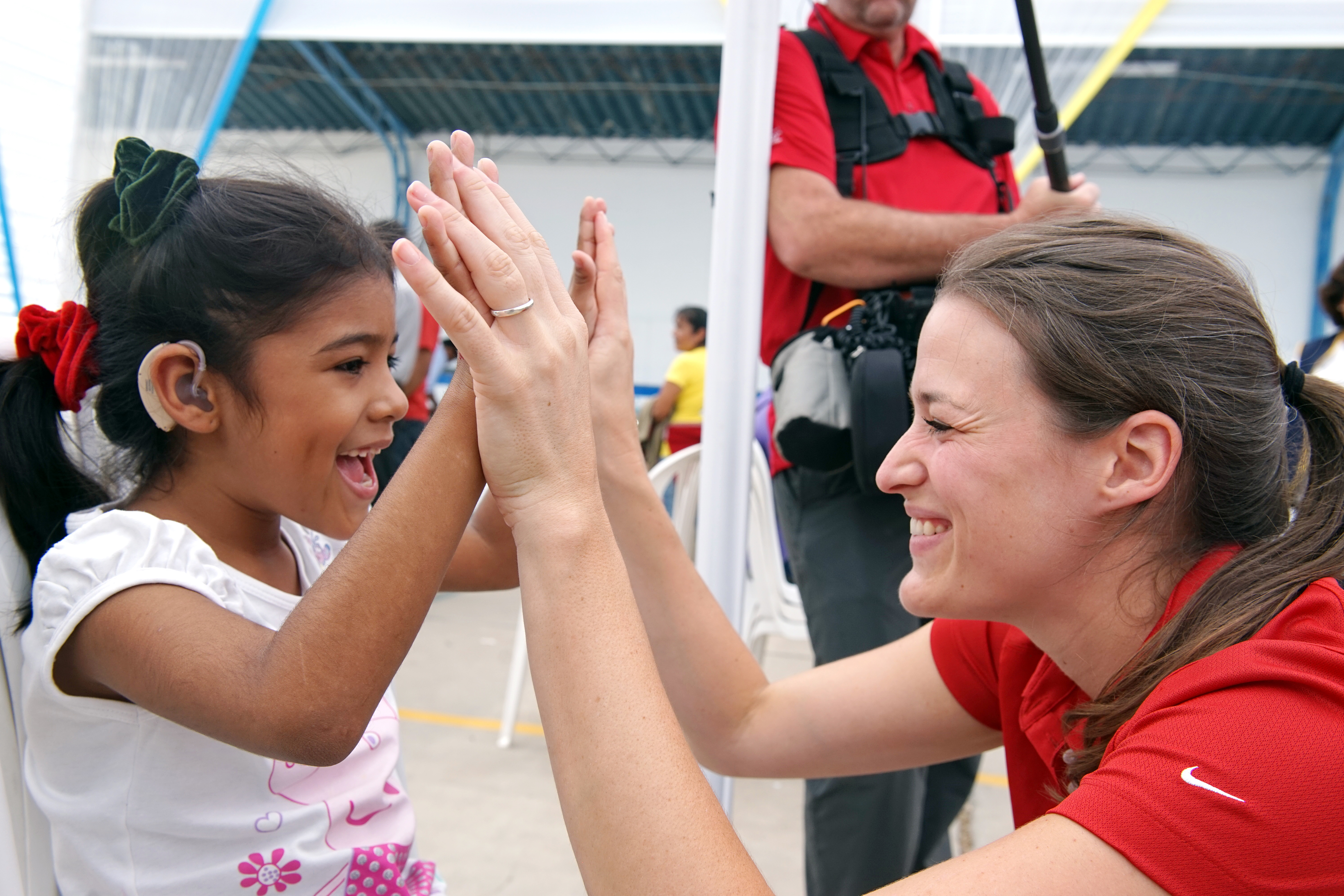 A Young Peruvian Girl Receives the Gift of Hearing