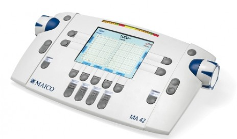 MA 42 audiometer.