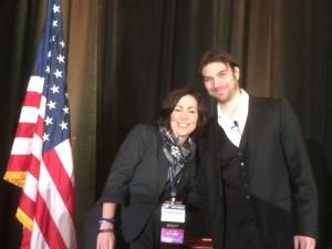 ADA Executive Director Stephanie Czuhajewski was recognized for her tireless efforts on behalf of the organization by ADA President Brian Urban.