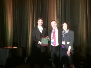 Gregory Frazer, PhD, AuD, received the Academy's Leo Doerfler Award for excellence in clinical practice.