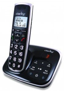 The BT914 cordless phone system from Clarity.