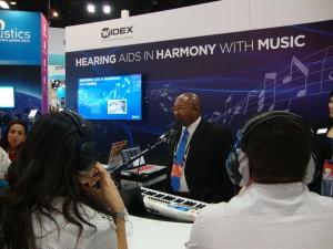 Focus on music listening at Widex