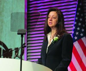 AAA Executive Director Tanya Tolpegin.